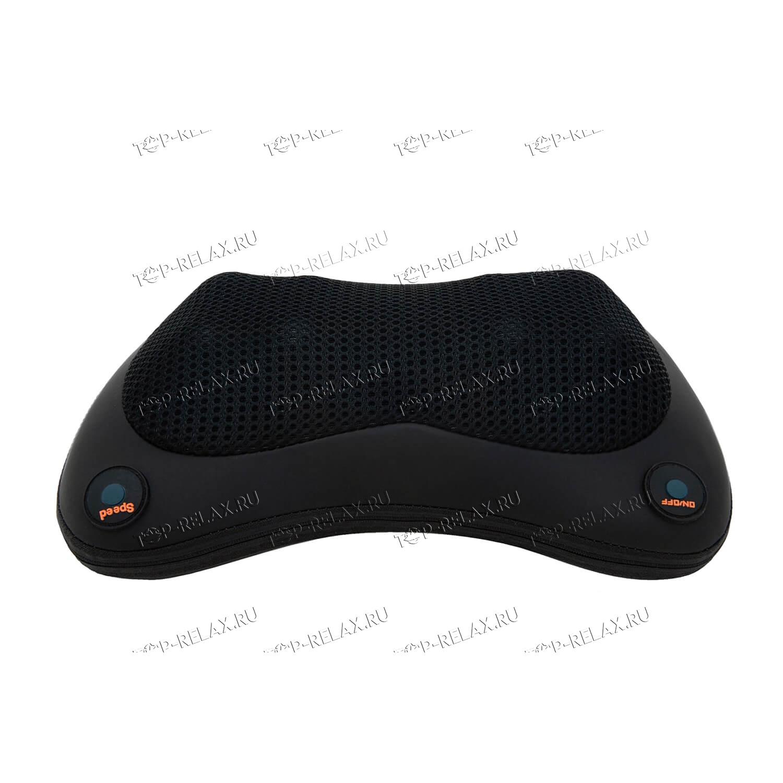 Массажная подушка RELAX PILLOW чёрная (HYS 368) - 2